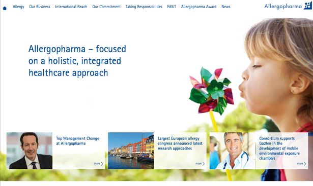 Digital Branding Allergopharma Merck